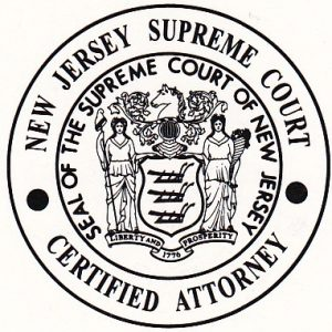 Supreme Court of New Jersey Certified Attorney